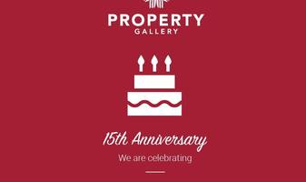 We proudly celebrate our 15 year anniversary!